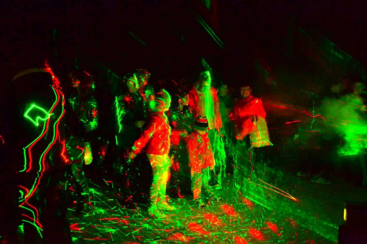 приглашаем картинка лазер в дыму островках лагуны
